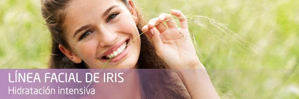 Línea iris hidratación intensiva Weleda